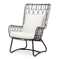 palecek dining chairs. capri outdoor wing chair, black palecek dining chairs e