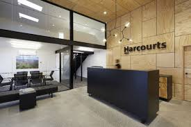 Office Wall Design Inspiration Office Tour Harcourts Offices Opotiki Business Office