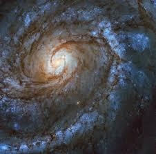 The Grand Design Hubble Captures Striking New Image Of Grand Design Spiral