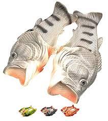 Fish Size Chart Fish Slippers Shoes Sandals Men Flops Women Funny Shower Kids Animal Bass Flop Flip Sandal Shoe Slides Summer Casual Kid Beach Slip On