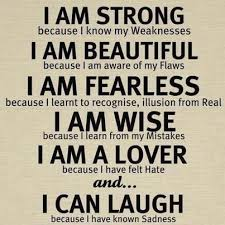 I Am Strong And Beautiful Quotes Best Of Quotes I Am Strong Because I Know My Weaknesses I Am Beautiful