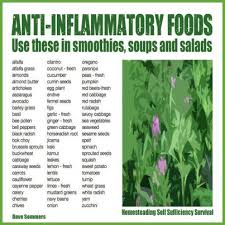 Anti Inflammatory Foods Chart Cooking On A Budget Anti Inflammatory Foods Chart