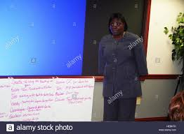 Loretta Gaines, a youth coordinator from MacDill Air Force Base ...