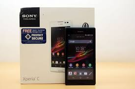 Sony Xperia C Unboxing