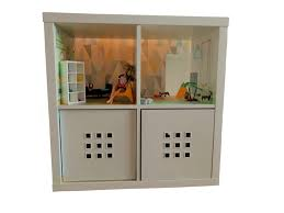 ikea dollhouse furniture. Simple Dollhouse Dolls House Bedroom Background U2013 Kids Room Furniture Sticker Ikea  Throughout Dollhouse Furniture B