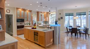 Natural Cherry Cabinets Cherry Wood Kitchen Natural Cherry Cabinets Granite Countertop