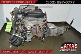 JDM Toyota 3S Beams Engine 6 Speed Transmission Altezza 3SGE 3S-GE ...