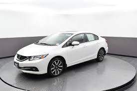 honda civic 2014 white. Wonderful 2014 PreOwned 2014 Honda Civic Sedan EXL On White