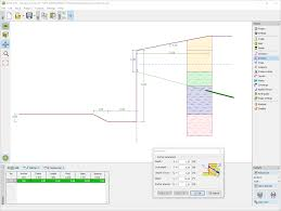 Small Picture Sheeting Design Geotechnical Software GEO5 Fine