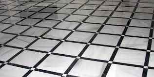 Black And White Tiles Black And White Marble Floor Tiles