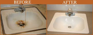 refinishing bathroom sink. Bathroom Sink Kit Beautiful Refinishing Plain On Throughout A 1 Faucet