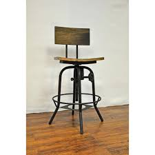 adjustable height chair. Y Decor Adjustable Height Brown Bar Stool Chair A
