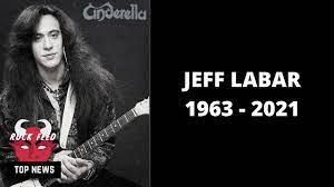 Cinderella Guitarist Jeff Labar Passes ...