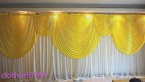 black stage curtains awesome 3m 6m backdrop with swag wedding backcloth with swags party