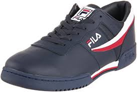 fila men s shoes. fila men\u0027s original fitness sneaker,navy/white/red,6.5 men s shoes \