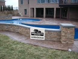 stamped concrete patio cincinnati mason ohio stamped concrete pool deck
