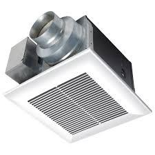 Panasonic Whisperceiling 110 Cfm Ceiling Exhaust Bath Fan Energy Home Depot Bathroom Fan