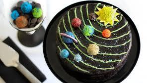 Solar System Birthday Cake Recipe Bettycrockercom