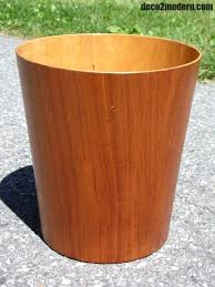 trash can teak trash can vintage mid century modern rainbow wood wastebasket bin medium size of teak trash can elegant unfinished wooden toy chest kits