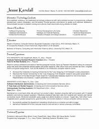 College Student Resume Format Download New It Template Photo
