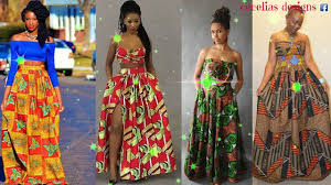 African Attire Outfits Designs African Dresses