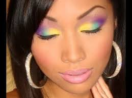 nicki minaj bedrock video inspired makeup