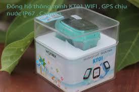 Đồng hồ thông minh Wonlex KT01 camera chịu nước IS67