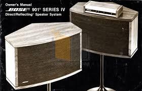 bose 901 series iv. pdf for bose speaker 901 series iv manual iv 7