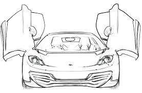 Ferrari Coloring Pages To Print Free Printable For Kids Bestlink