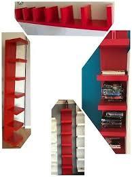ikea lack floating wall shelves white