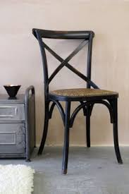 dark cross back dining chair 120
