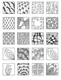 Zentangle Patterns For Beginners Impressive Zentangle Patterns For Beginners Bing Images Crafts To Make
