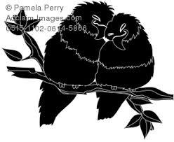 lovebird clipart silhouette.  Lovebird With Lovebird Clipart Silhouette E