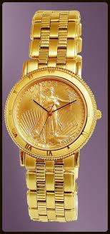 mens real gold watches best watchess 2017 coinwatch brand mens solid gold eagle coin watch uc333 ae25 3