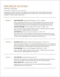 Doc Resume Templates 12 Free Minimalist Professional Microsoft Docx