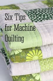 Six Tips for Machine Quilting | Machine quilting, Advice and Explore &  Adamdwight.com