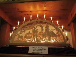 a schwibbogen or candle arch