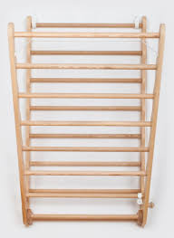 wall mounted laundry ladder clothes