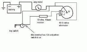 10si alternator wiring diagram 10si Alternator Wiring Diagram alternator hook up on wd allischalmers forum 10si alternator wiring diagram with amp meter