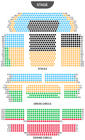 Lion King Theatre Seating Chart Prince Edward Theatre Seating Plan Watch Aladdin London At