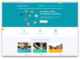 awesome responsive wordpress education themes colorlib education center online cource wordpress theme