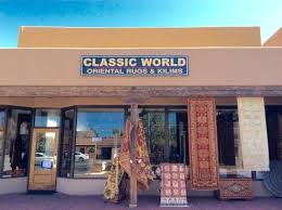 classic world oriental rugs kilims front of santa fe location