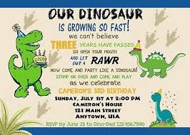 Dinosaur Birthday Invitation Dinosaur Birthday Invitation Dinosaurs Invitations