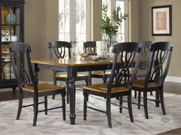 Dining Room Table Black Incredible Chic Contemporary Black Gloss Rectangle Dining Table