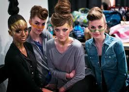 cmc makeup muas doing runway makeup for dallas artopia