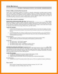 Examples Of Public Relations Resumes 9 Public Relations Resume Examples Letter Signature