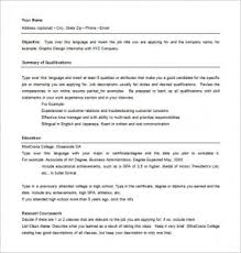 Combination Resume Template | Template Business