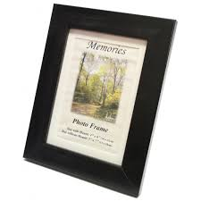 12x10 black wood photo frame with mount 9 99