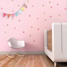 confetti wall decal dots wall decal pink circles stickers kids