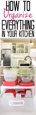 upper kitchen cabinets pbjstories screenbshotb: tips and tricks for an organized kitchen see how i organize cabinets from plasticware to